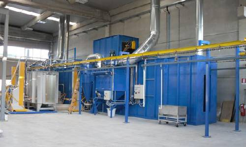Automatic Coating Plant for Plastic Products in Mumbai & India